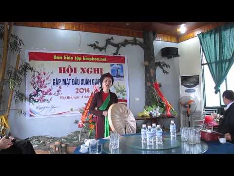 Quan họ hát mừng Hiephoa.net ( 16-2-2014)