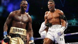 Wilder vs Joshua: Who is hardest puncher?