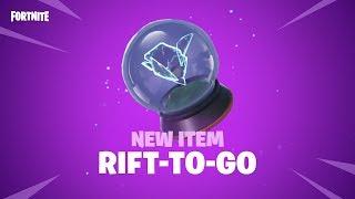 Fortnite - New Item: Rift-To-Go