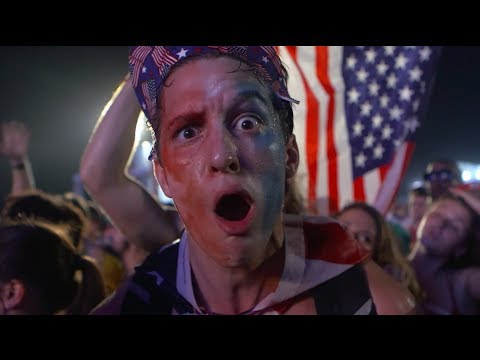 USA Fans in Rio React After Beating Ghana