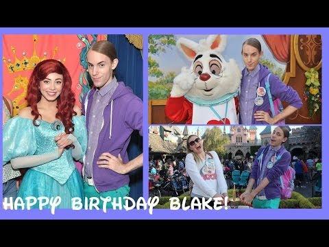 DISNEYLAND BIRTHWEEK 2014! (Day 4: Happy Birthday Blake)