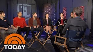 'Justice League' Cast Talks New Film And What It's Like Being Idolized By Kids | TODAY