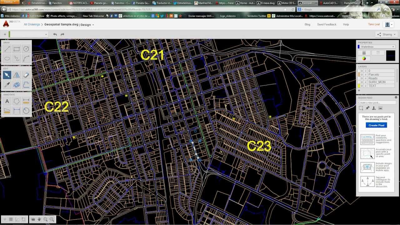 Como ver archivos de autocad dwg y dxf sin autocad visor for Archivos de cad