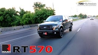 2014 F-150 Roush RT570 Accelleration + Walk Around
