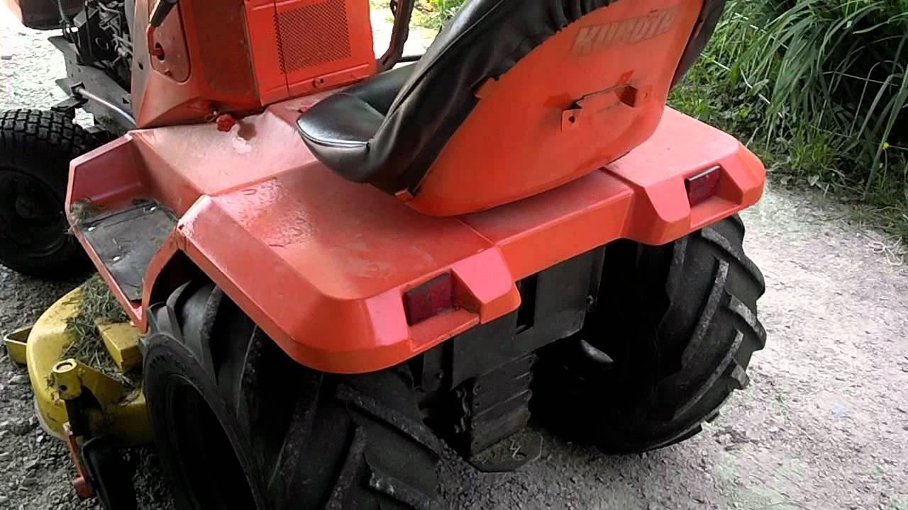 Kubota Hst G4200 Garden Tractor