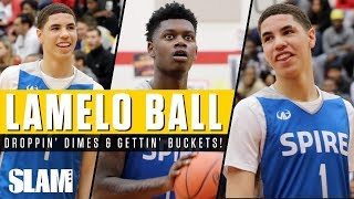 LaMelo Ball Drops CRAZY Dimes in front of SOLD OUT Crowd! 👀   SLAM