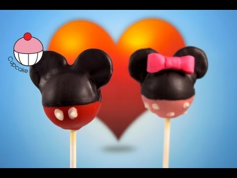 Mickey Mouse Cake Pops Tutorial Kids Cupcake and Cake ...