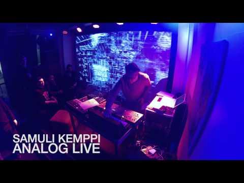 Samuli Kemppi - Analog live @ mbar, Helsinki, Finland 11th Jan 2014