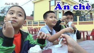 Bé Dương và mấy anh đi ăn chè tại quán rất nổi tiếng , Kênh Em Bé ♥