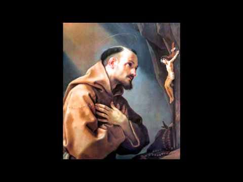 Oração de São Francisco - Cristo quero ser instrumento