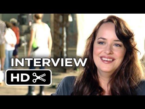 Need For Speed Interview - Dakota Johnson (2014) - Aaron Paul Racing Movie HD