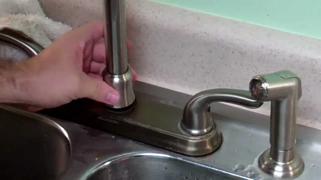 how to fix a gb leaky faucet trimmed