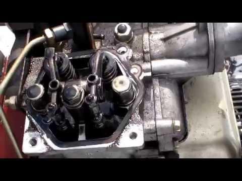 Ремонт, разборка дизельного двигателя. Переломанный коленвал