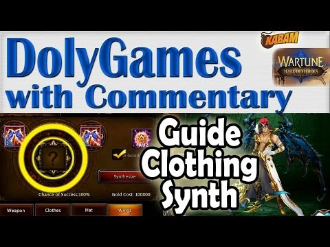 ➜ WartuneHoH GUIDE Clothing and Wings Synthesis Tailoring Fashion by COSMOS at Kabam