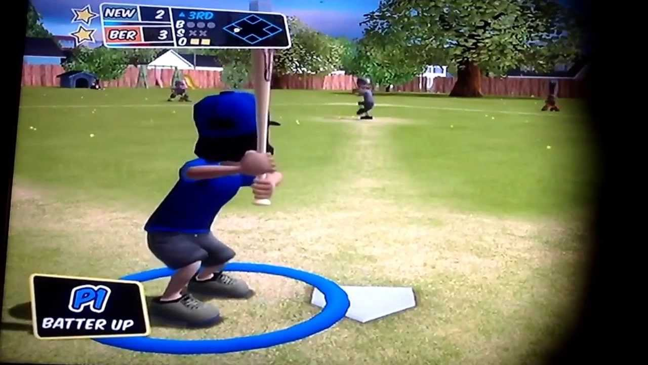 backyard baseball story mode game 1 pablo sanchez comes