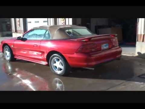 FORD MUSTANG-CRASH BANG BOOM!-Collision Repairs-Part 2