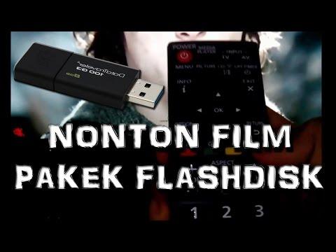 Cara Nonton Film Pakek Flashdisk di LED TV Tanpa Ribet