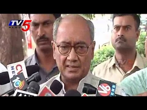 Congress MLCs Will Lose Membership Who Joined in TRS Says Digvijay Singh : TV5 News