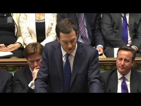 Chancellor delivers 2014 Budget Statement - Wednesday 19 March 2014