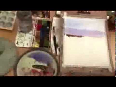 Ahmad Moghaddasi Water Color Painter - Water Color Drawing Workshop
