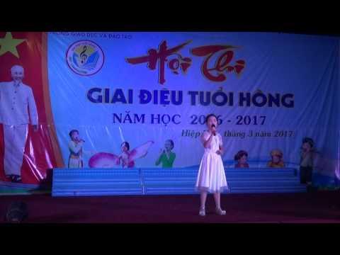 Bé 10 tuổi trường TH Hoàng An - Hiệp Hòa- Bắc Giang giao lưu