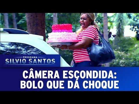 O Bolo elétrico – Silvio Santos (SBT)