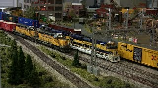 HO Trains FEC & Union Pacific
