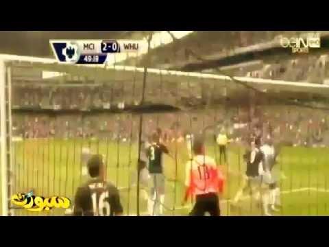 Manchester City vs West Ham 2014 2-0 All Goals & Highlights 11-05-2014
