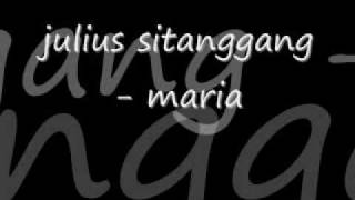 Julius Sitanggang Maria