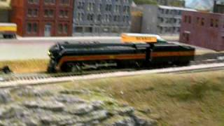 Class J Norfolk & Western N Scale Model Train With Sound