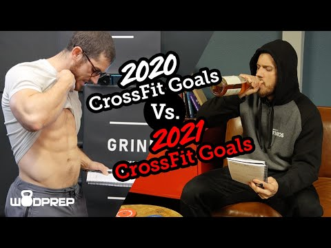 2020 CrossFit Goals Vs. 2021 CrossFit Goals