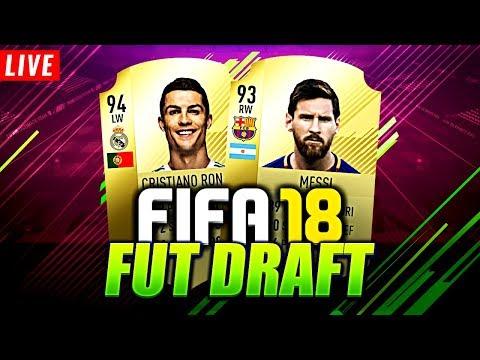 I AM BAAAAACK!!! 🔥 | FIFA 18 - FUT DRAFT [ÉLŐ]