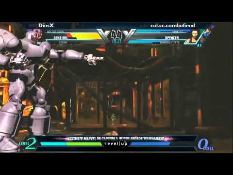 11/19/11 - @SuperDojo UMVC3 Tournament - TOP 3