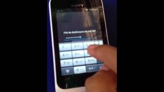 Unlock Xperia Tipo St21a