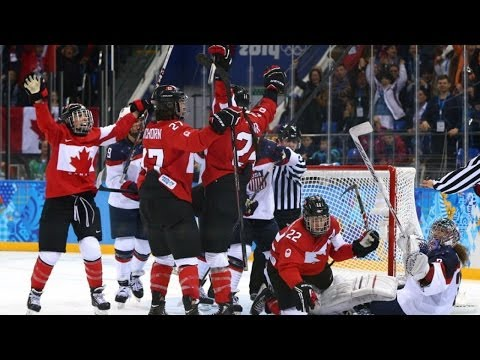 Canada Wins Gold Medal For Women's Hockey- Sochi Winter Olympics 2014