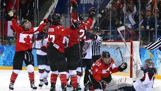 Canada Wins Gold Medal For Women's Hockey- Sochi Winter