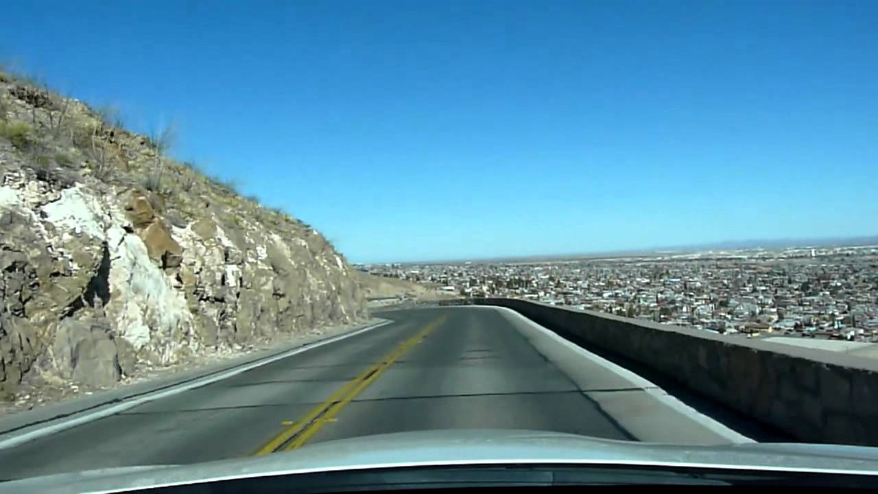 Car And Driver Subscription >> Scenic Drive - El Paso, TX - Head On View - YouTube