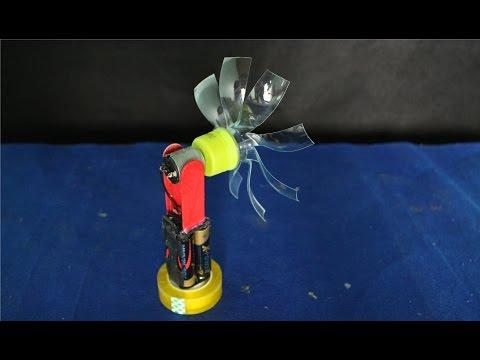 Как сделать мини вентилятор