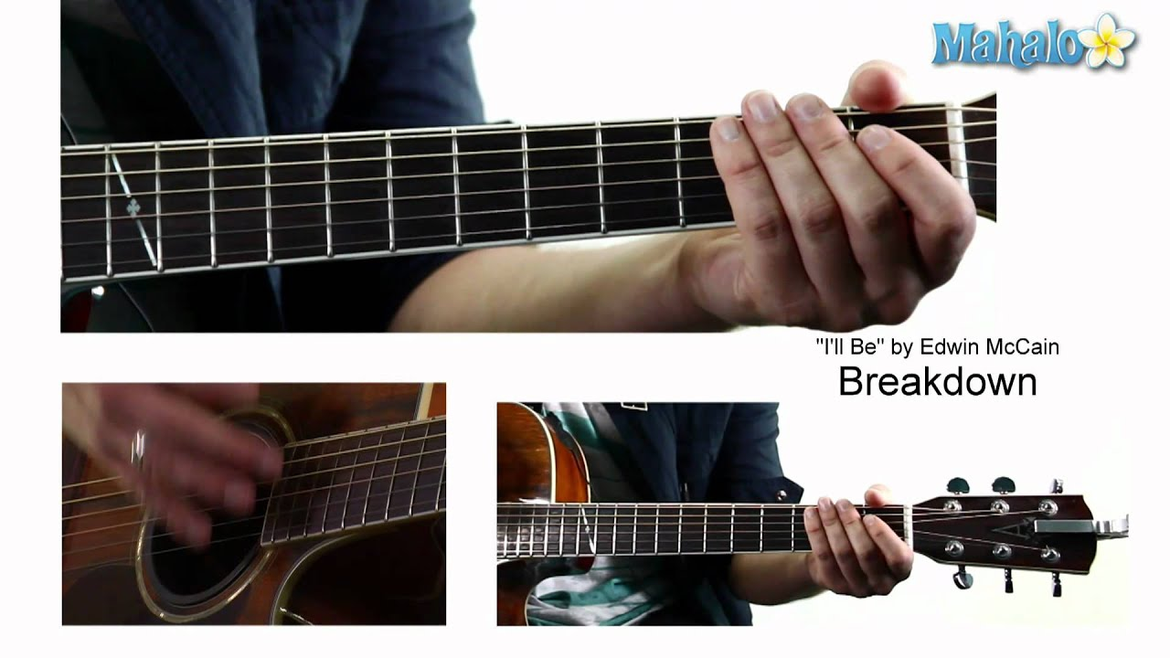 how to play i ll be on guitar