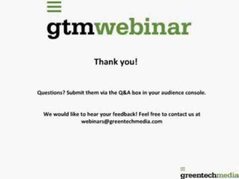 Trinasmart Greentech Media Webinar