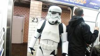 Imrov Everywhere: Star Wars Subway Car