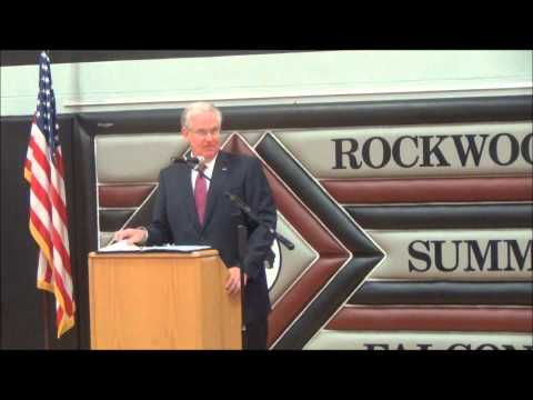 Governor Jay Nixon Visits Rockwood Summit High School