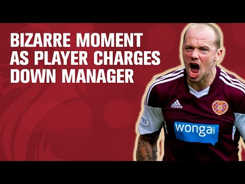 Player scores but then clashes with manager and sees red!