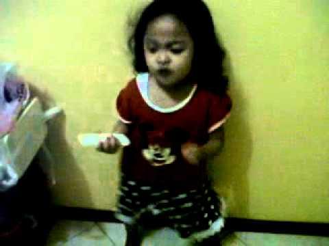 Shafa Kamila Cover Jangan Pergi (Princess Girlband)