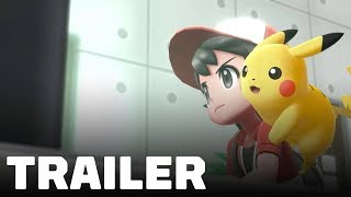 Pokémon: Let's Go, Pikachu & Eevee - Adventure Awaits Trailer