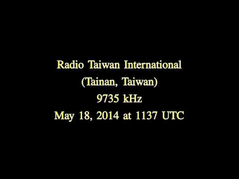 Radio Taiwan International (Tainan, Taiwan) in japanese - 9735 kHz