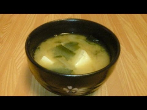 Raw Food Diet Recipes - Miso Soup