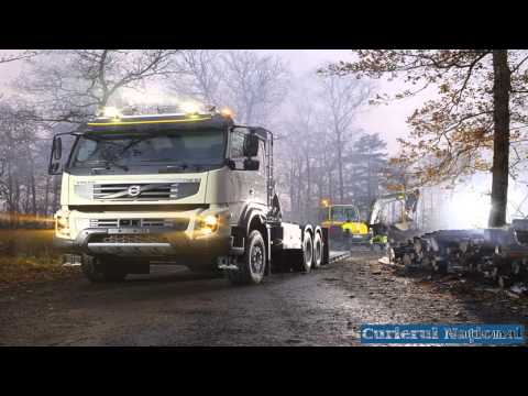 New Volvo FMX Trucks On the Test Track