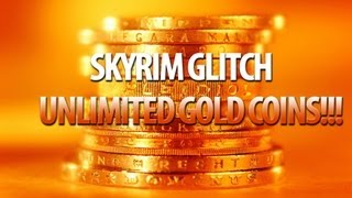 BEST UNLIMITED GOLD COIN & SMITHING GLITCH [Skyrim PC