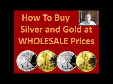 Buy Silver &amp; Gold Bullion At Wholesale, No Brokers License Required